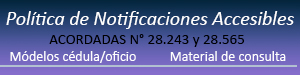 Politicas Notificaciones Accesibles
